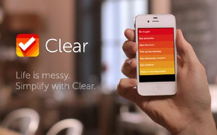 O Clear é um dos melhores gerenciadores de tarefas disponível para iOS (Foto: Divulgação/realmac Software)