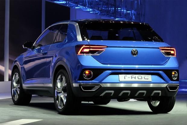Volkswagen T-ROC no Salão de Genebra (Foto: Newspress)