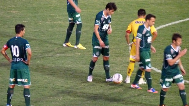 Mirassol e Guarani empatam por 1 a 1 pelo Campeonato Paulista (Foto: Warley Menezes / Divulgação Guarani)