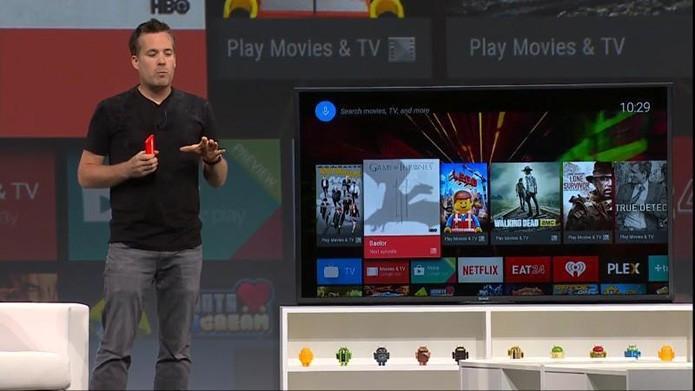 Lançamento do sistema Android TV (Foto: Divulgação/Google)