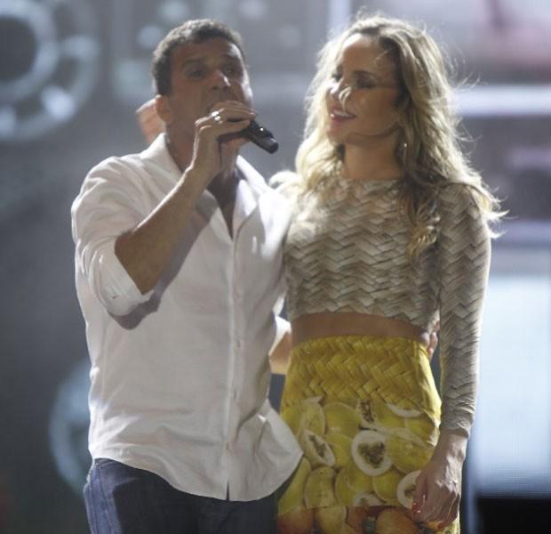 EriJohnson e Claudia Leitte (Foto: Fred Pontes/Divulgação)