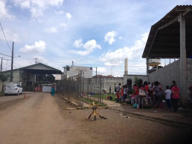 Presídio Central Estadual Feminino de Piraquara (Foto: Dulcineia Novaes)