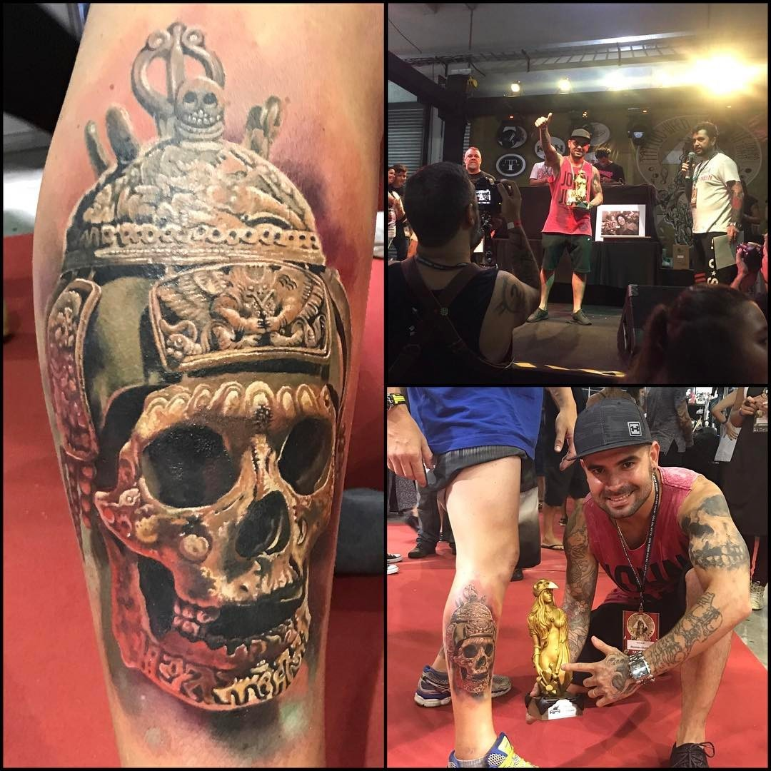 A melhor tatuagem de sábado na Tattoo Week 2017