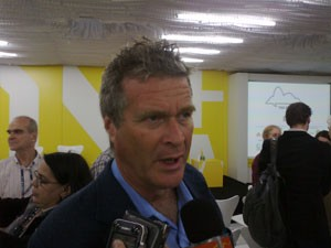 Deputado Alfredo Sirkis (PV/RJ) é um dos idealizadores do Rio Clima (Foto: Tadeu Meniconi/G1)