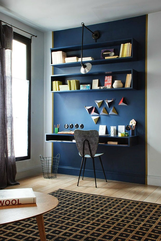 Paredes decoradas 13 ideias de pinturas criativas casa for Ouvrir une fenetre dos