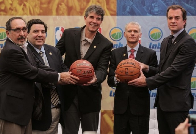 Reunião LNB e NBA (Foto: Divulgação/LNB)