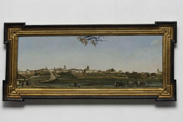 Panorama da Cidade de São Paulo, de Armand Julien Pallière (1821) (Foto: Edouard Fraipont)