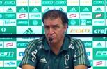 Veja a entrevista do técnico Cuca, do Palmeiras, após clássico contra o São Paulo