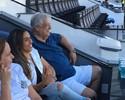 Marta assiste a jogo na Vila e deixa em aberto chance de voltar ao Santos