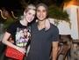Sophia Abrahão e Sergio Malheiros curtem festa no Rio