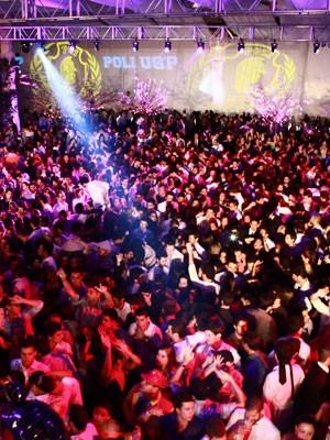 Baile da Poli-USP, em fevereiro (Foto: Divulgação/ÁS Formaturas – Enjoy/Márcio Bulhões)