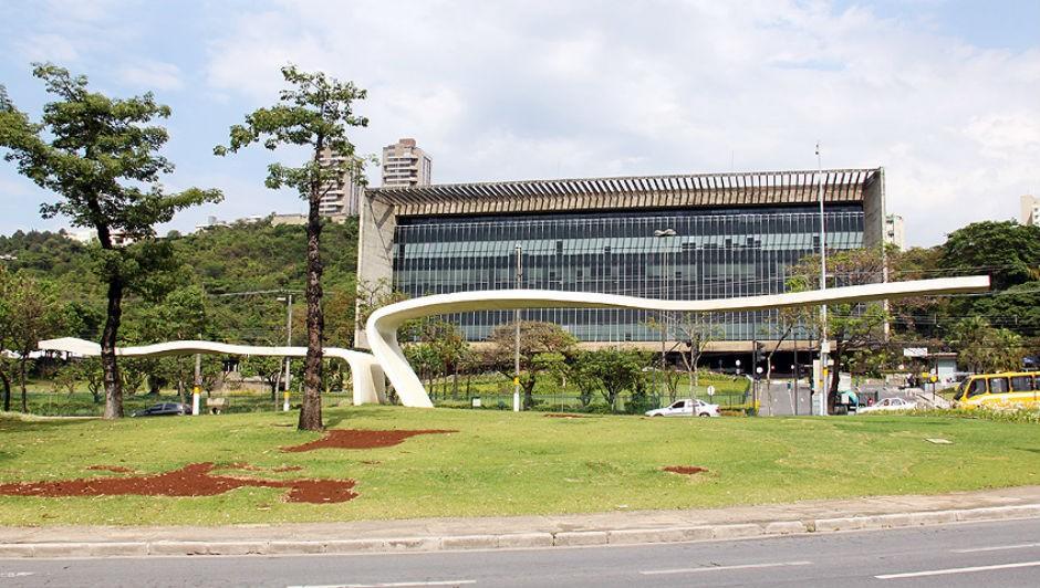 Sede da Usiminas em Belo Horizonte, Minas Gerais (Foto: Cid Costa Neto / Wikimedia Commons)