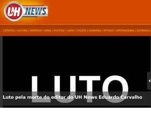 Morte jornalista Eduardo Carvalho (Foto: Reprodução/Internet)