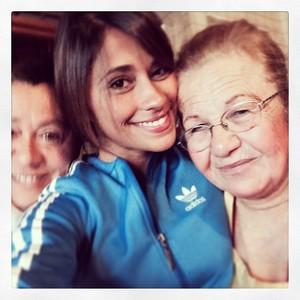 Antonella Roccuzzo faz selfie (Foto: Instagram)