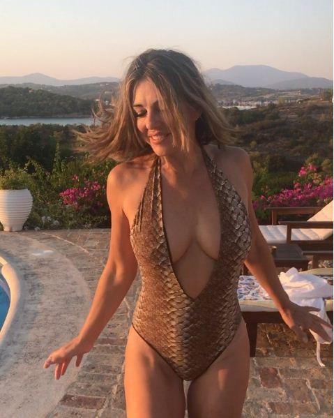 Elizabeth Hurley (Foto: Reprodução/ Instagram)