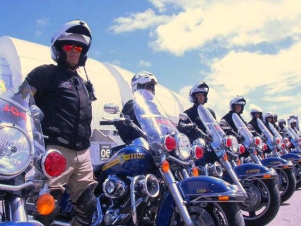 Polícia vai utilizar 35 motos para escoltar seleções (Foto: PRF/Divulgação)