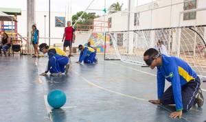 Esportes adaptados foram ofertados no CEU das Artes, em Macapá (Foto: Saulo Silva/Comunicação PMM)