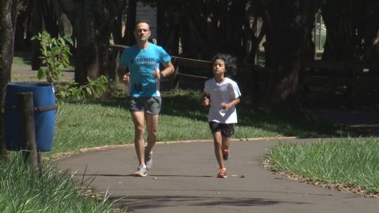 Pai e filho correm juntos pelo interior paulista!