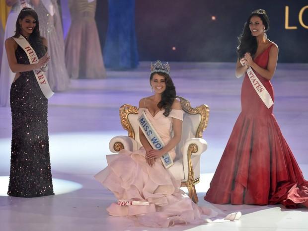 Miss África do Sul é eleita Miss Mundo 2014. (Foto: REUTERS/Toby Melville)