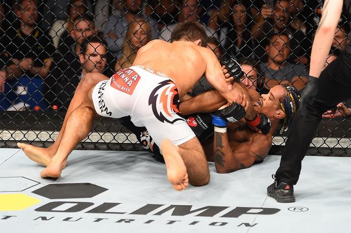 Alan Nuguette Mairbek Taisumov UFC Berlim (Foto: Getty Images)
