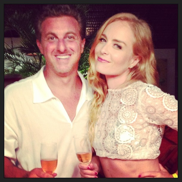 Angélica e Luciano Huck (Foto: Reprodução / Instagram)