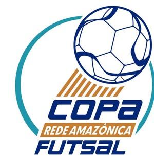 Marca da Copa Rede Amazônica de Futsal (Foto: Divulgação)