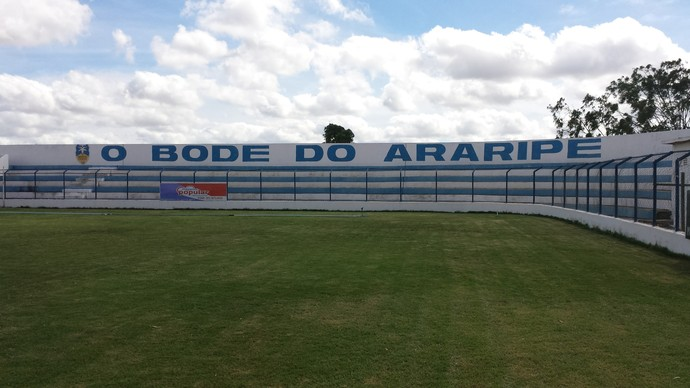 Araripina, estádio (Foto: Ednardo Blast/TV Grande Rio)