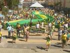 São Carlos e região têm protestos a favor do impeachment neste domingo