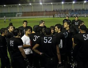 futebol americano Botafogo Espectros (Foto: Divulgação)