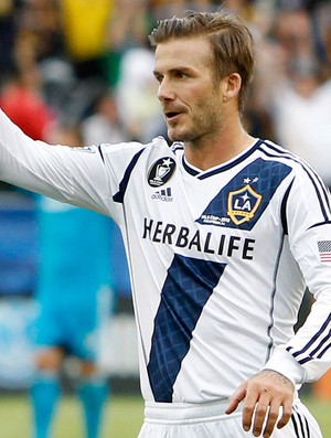 David Beckham no Galaxy (Foto: Reuters)