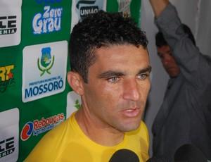 Érico, goleiro do Baraúnas (Foto: Silas Batista / GloboEsporte.com)
