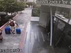 Turista tem carro roubado na Praia da Costa, em Vila Velha; veja vídeo