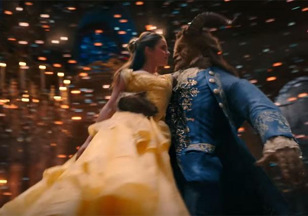 """Cena do filme """"A Bela e a Fera"""" (Foto: Reprodução/Youtube)"""