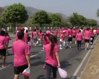 O evento contou com a presença de homens e mulheres (Foto: RJTV 1ª Edição)