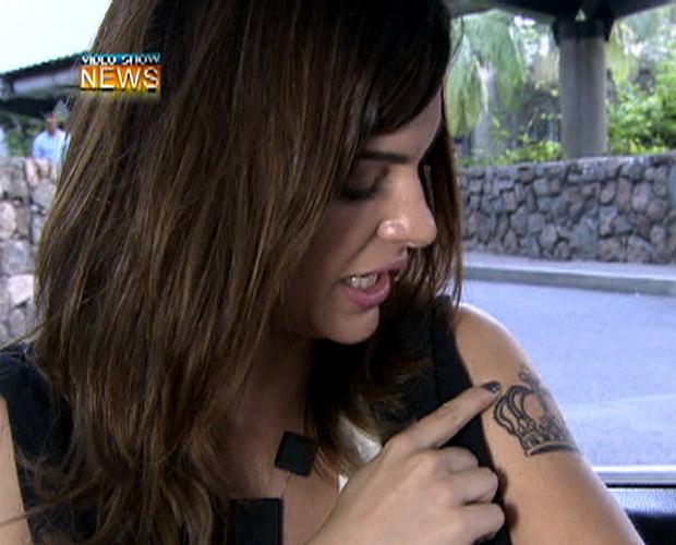 Mayana Neiva (Foto: Vídeo Show/TV Globo)
