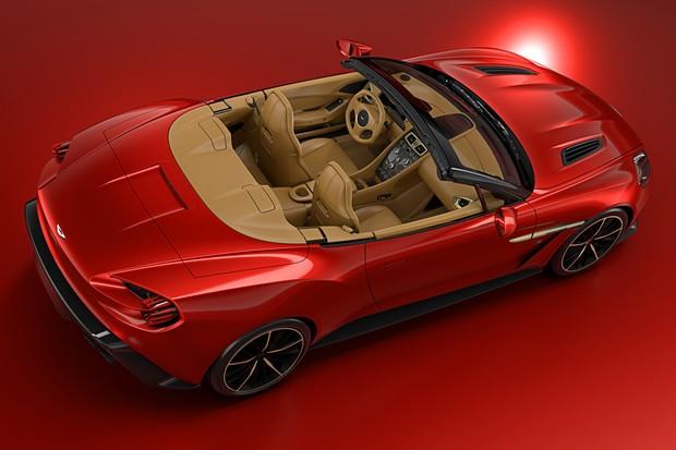 Aston Martin Vanquish Zagato Volante (Foto: Divulgação)