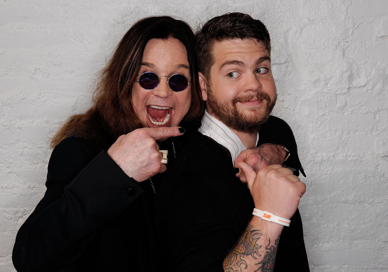 Ozzy e o filho, Jack Osbourne (Foto: Getty Images)