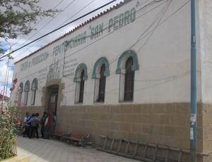 corinthians torcedores presos Penitenciária de San Pedro (Foto: Diego Ribeiro)