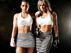 Juju Salimeni e Graciella Carvalho exibem barriga sarada em ensaio