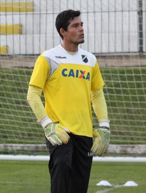 Gilvan, goleiro do ABC (Foto: Divulgação/ABC)