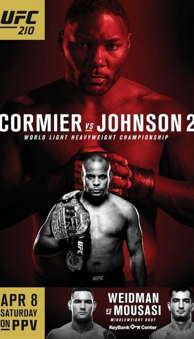 Pôster oficial UFC 210 (Foto: Divulgação UFC)