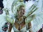 Luana Piovani relembra primeiro desfile pelo Salgueiro: 'Já é carnaval'