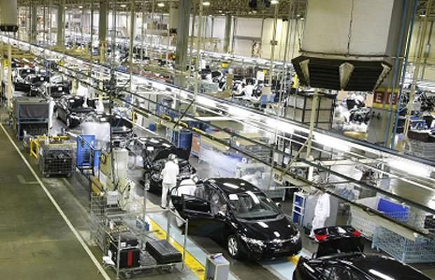 Fábrica da Honda em Sumaré (SP) (Foto: Divulgação)