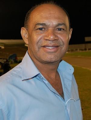José Araújo, assistente técnico da Federação Paraibana de Futebol (Foto: Silas Batista / GloboEsporte.com/pb)