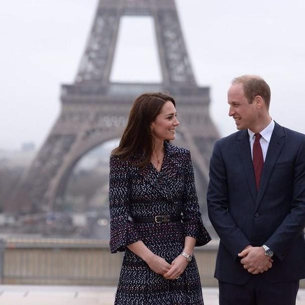 Kate e William (Foto: Reprodução Instagram)