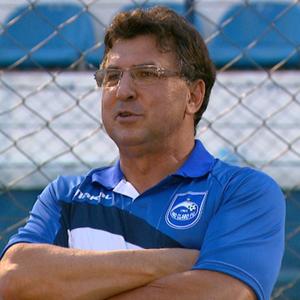 Estevam Soares, técnico do Rio Claro (Foto: Rodrigo Sargaço/EPTV)