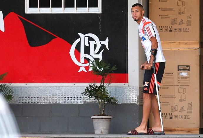 Paulinho, Flamengo (Foto: Alexandre Cassiano / Agência O Globo)