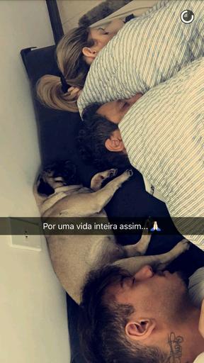 Lucas Lucco (Foto: Reprodução / Snapchat)