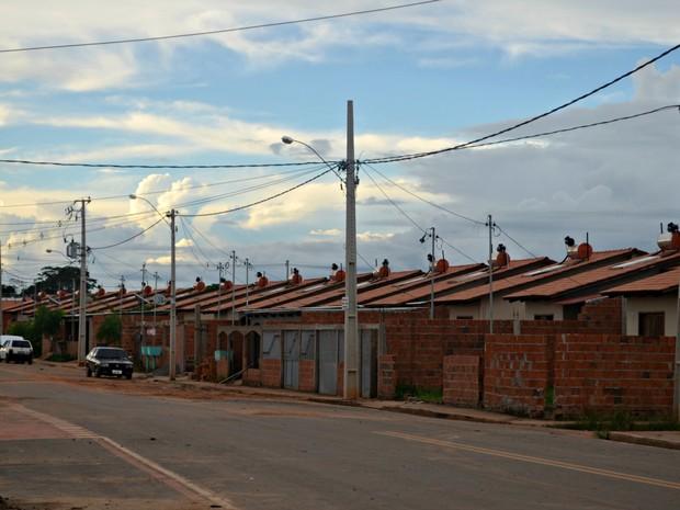 Moradores da Cidade do Povo reclamam por não receber correspondências (Foto: Quésia Melo/G1)