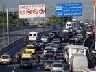 Rio é a 3ª cidade mais congestionada do mundo, segundo estudo holandês